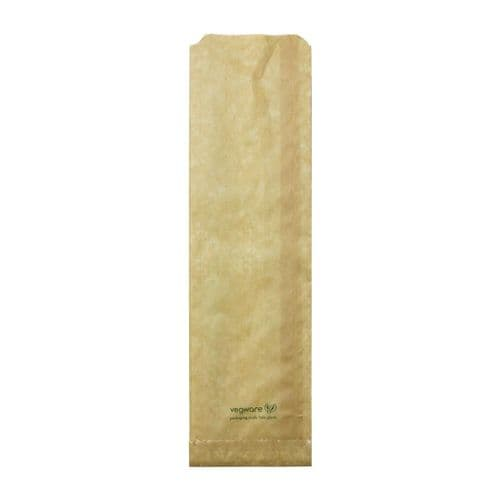 FC897 Vegware Compostable Therma Paper Hot Food Bags 356 x 101mm (Pack of 500)